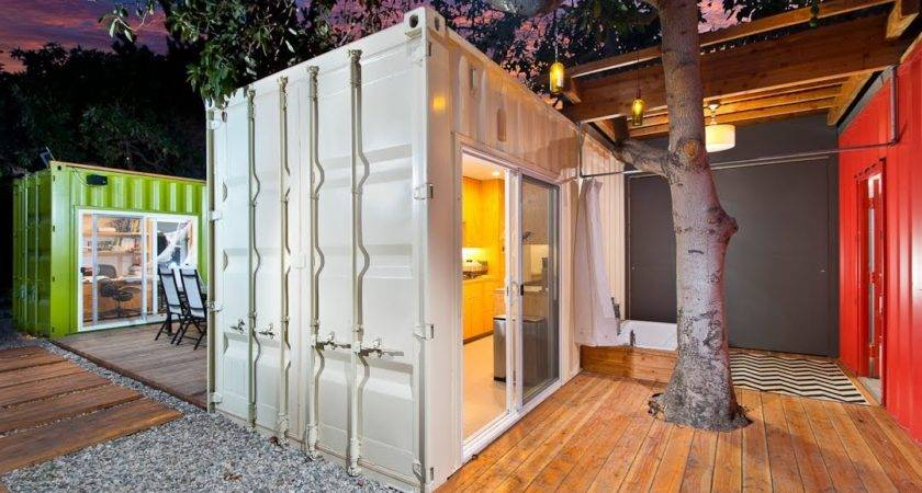 Container House Venice California Ipme Youtube