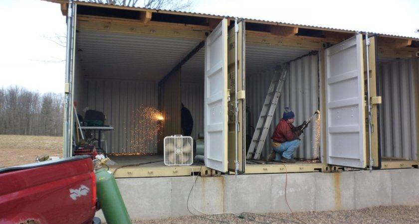Containers Made Into Homes Container House Design