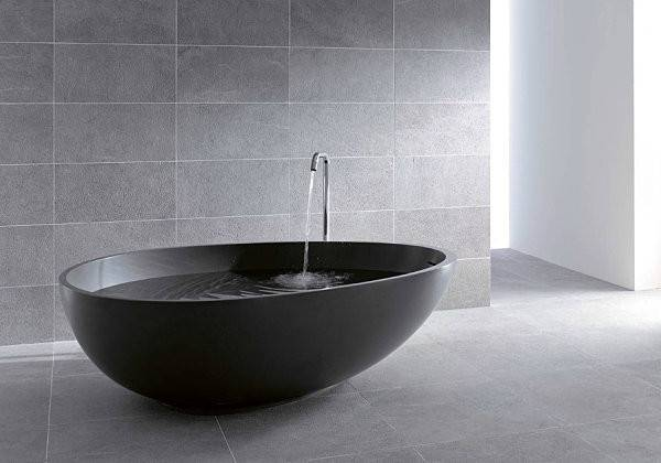 Contemporary Bathroom Tubs Soothing Experience