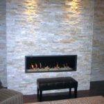 Contemporary Built Stack Stone Fireplaces