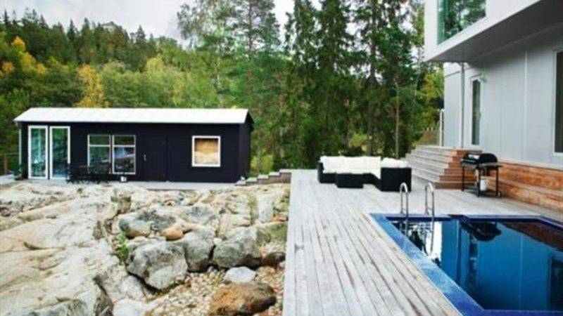Contemporary Clean White Scandinavian Style Home