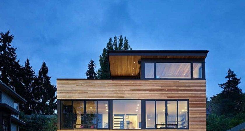 Contemporary Cycle House Chadbourne Doss Architects