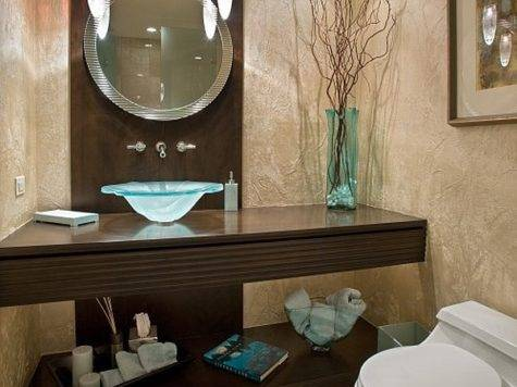 Contemporary Guest Bathroom Decor Ideas Decoist