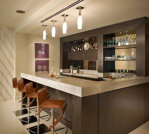 Contemporary Home Bar Design Ideas Remodels Photos