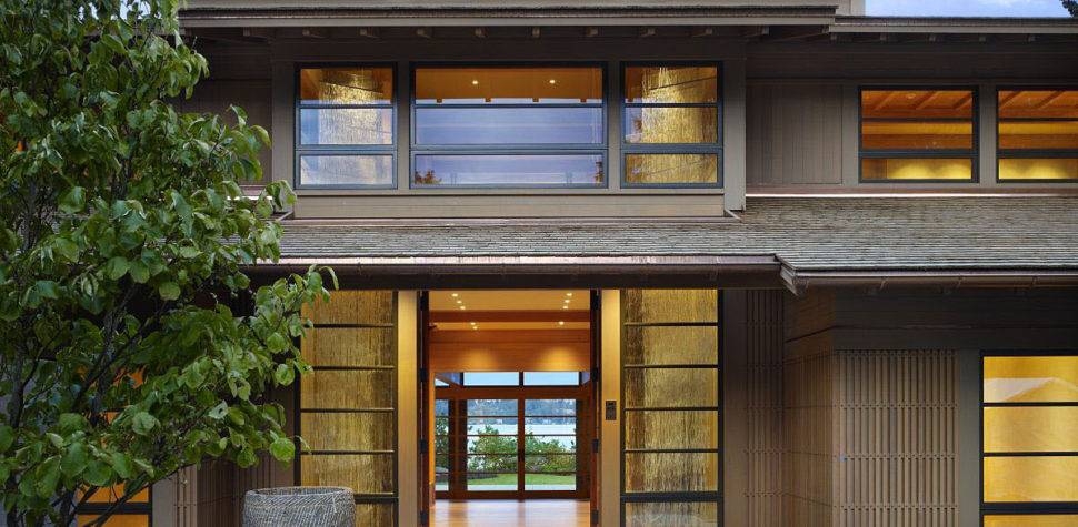 Contemporary House Seattle Japanese Influence