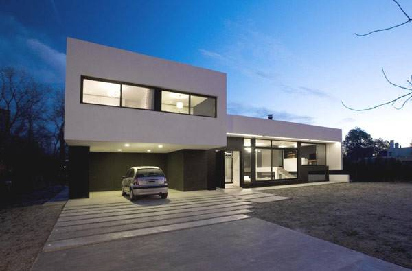 Contemporary Houses Their Inspiring Garages