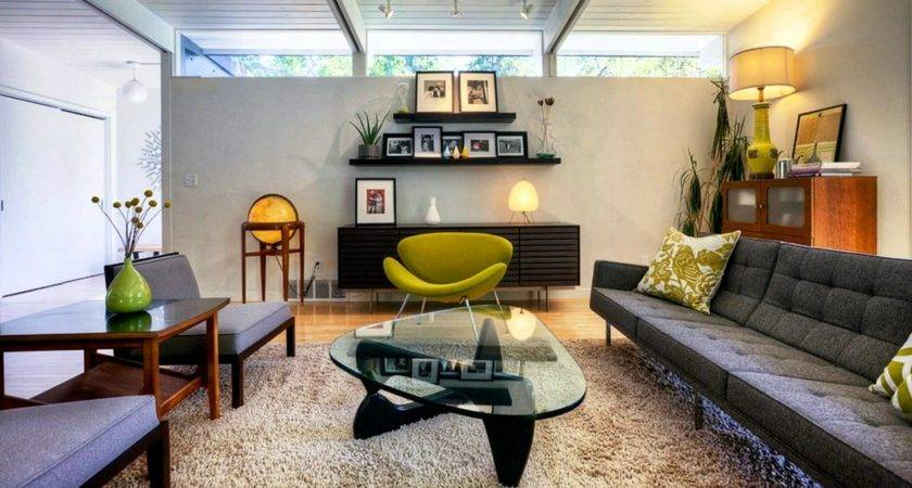Contemporary Living Ideas Mid Century Modern Style Youtube