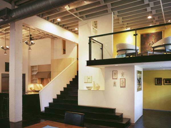 Contemporary Loft Design Ideas Interior