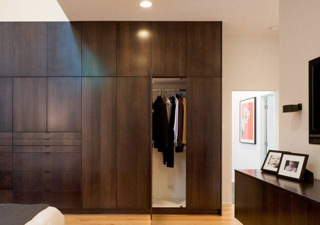 Contemporary Master Bedroom Closet Modern Interior
