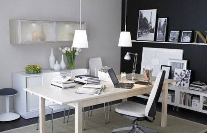 Contemporary Residence Office Design Style Suggestions