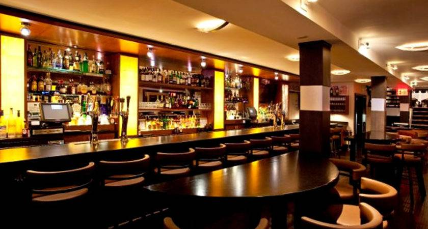 Contemporary Restaurant Bar Interior Lighting Design Glass