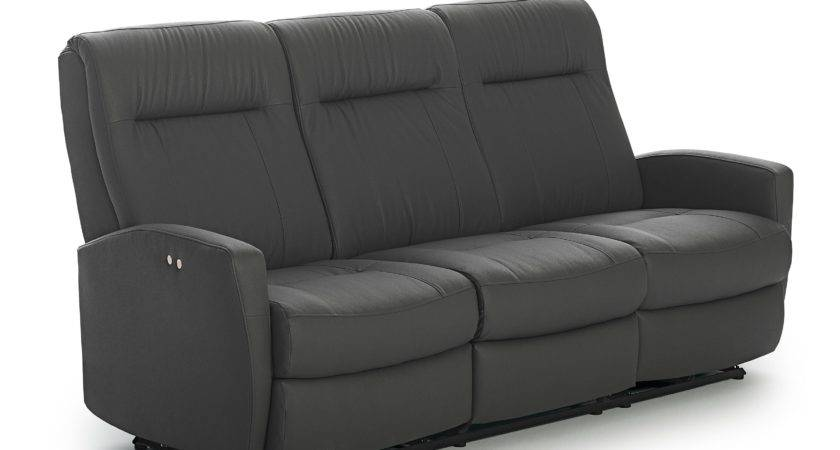 Contemporary Space Saver Reclining Sofa Best Home