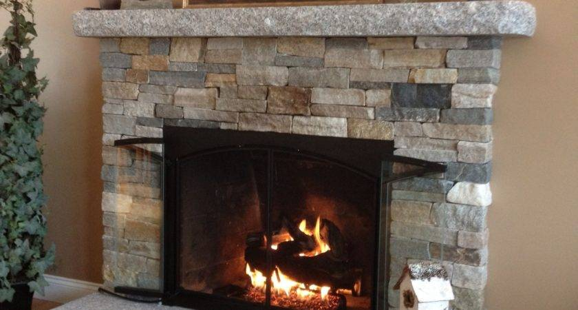 Contemporary Stone Fireplace Surround Frame Clean