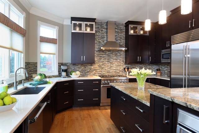 Contemporary Style Open Layout