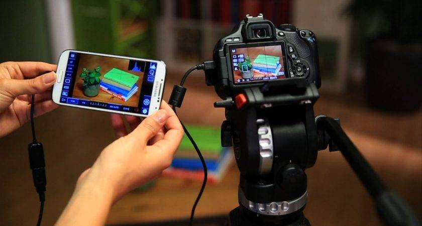 Control Dslr Camera Your Android Phone Tablet