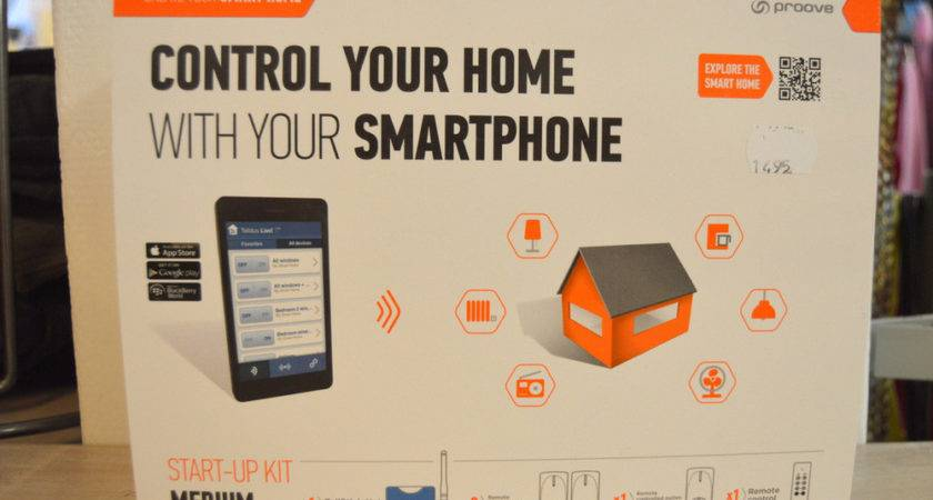 Control Your Home Smartphone Design