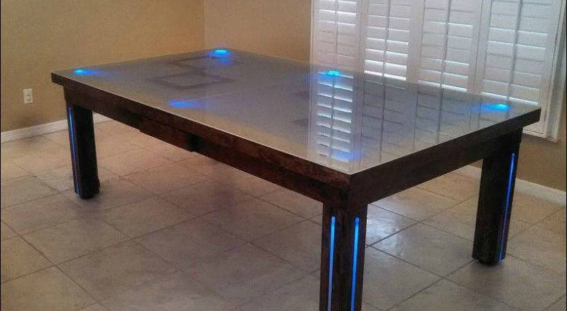 Conversion Pool Tables Dining Room