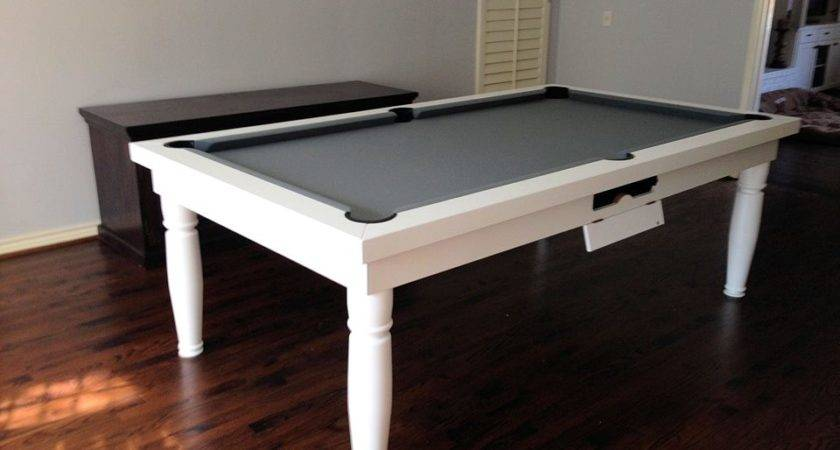 Convertible Pool Tables Dining Room