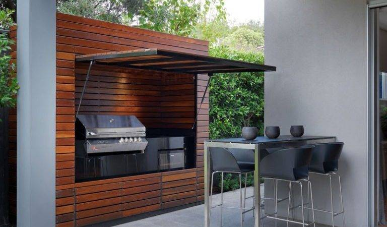 Cooking Fresh Easy Modern Outdoor Kitchens