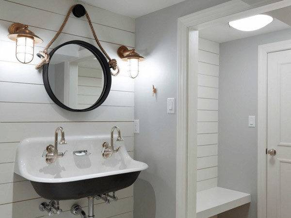 Cool Bathroom Mirrors Design Swan