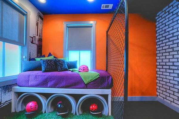 Cool Bedroom Ideas Sport Themes