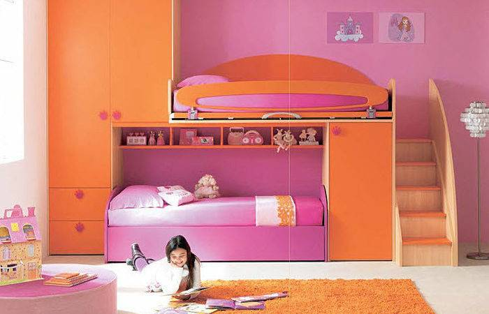 Cool Bunk Beds Girls Bedroom Ideas