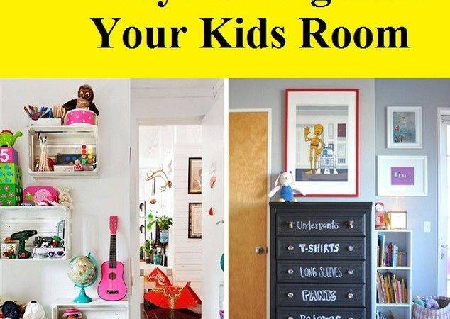 Cool Colorful Ways Organize Your Kids Room