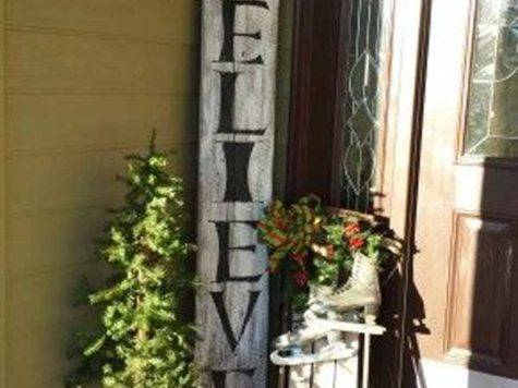 Cool Diy Decorating Ideas Christmas Front Porch
