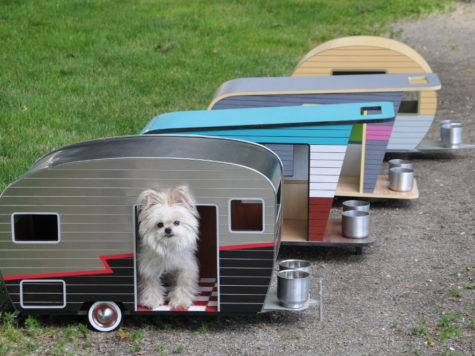 Cool Dog House Upgrade Instantly Endearing Pet Trailer