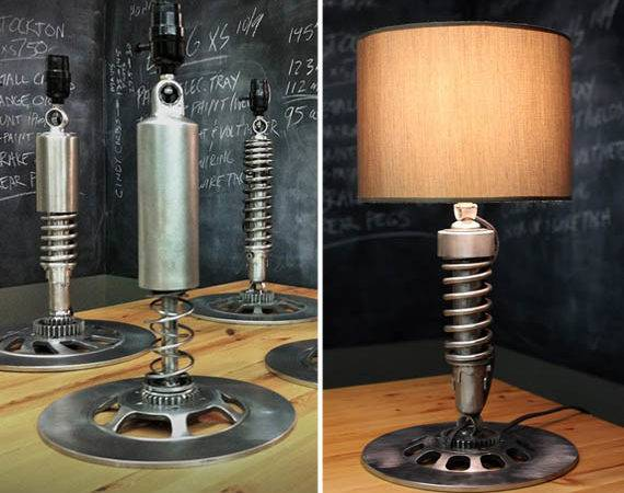 Cool Lamps Guys Home Design