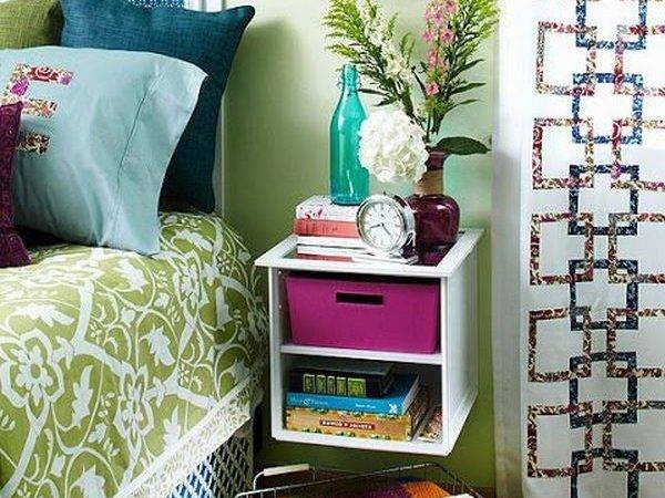 Cool Nightstand Ideas Little Piece