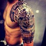 Cool Shoulder Tattoo Design Guys Tattoos Men