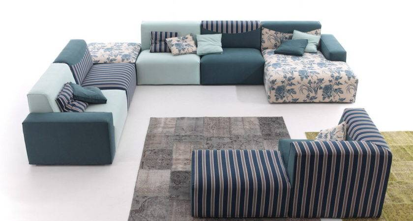 Cool Sofa Funky Lafayette Living Color Polyvore