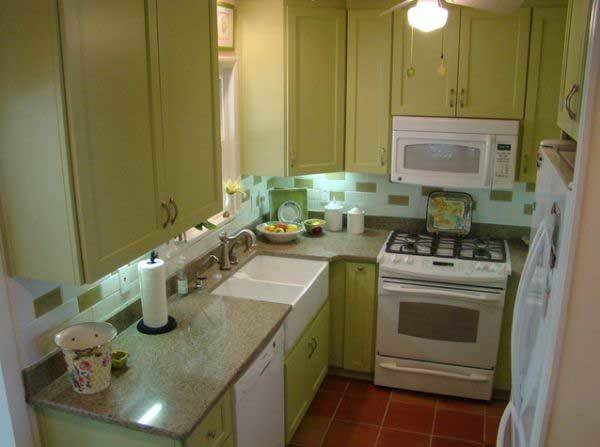 Cool Space Saving Small Kitchen Design Ideas Amazing