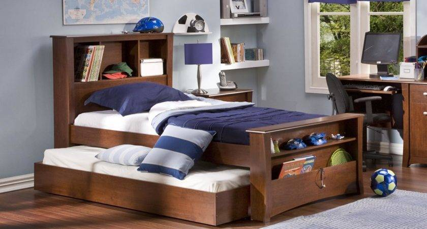 Cool Twin Beds Interior Design Ideas