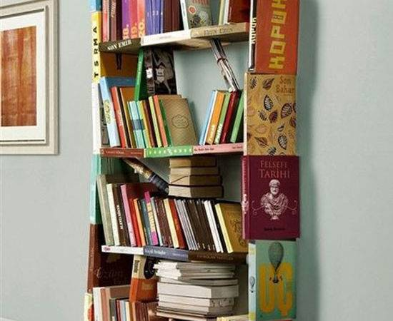 Cool Unique Bookshelves Designs Inspiration