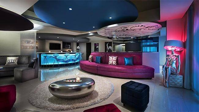 Coolest Hotel Rooms World