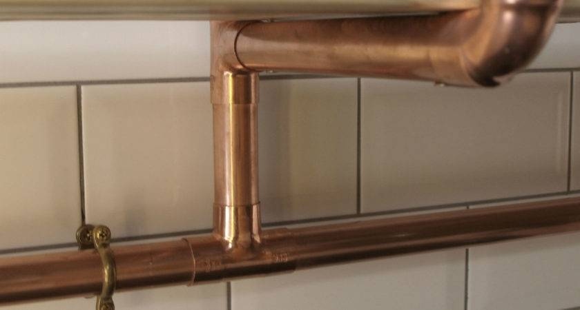 Copper Pipe Reclaimed Wood Shelving