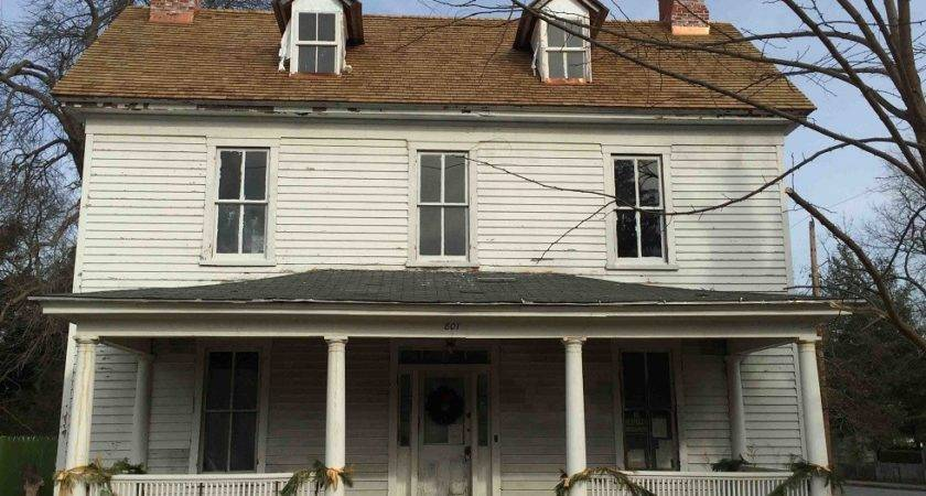 Copper Roof Flashing Historic Home Renovation