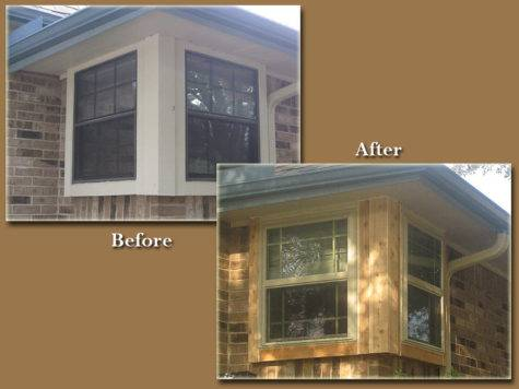 Corner Bay Window Home Design