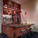 Corner Home Bar Ideas Design