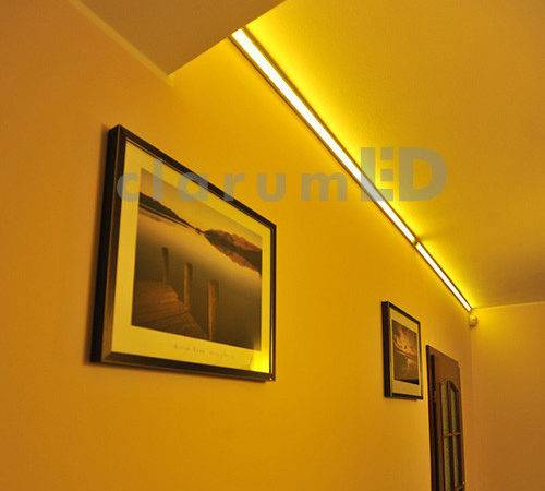 Corner Led Profile White Lighting