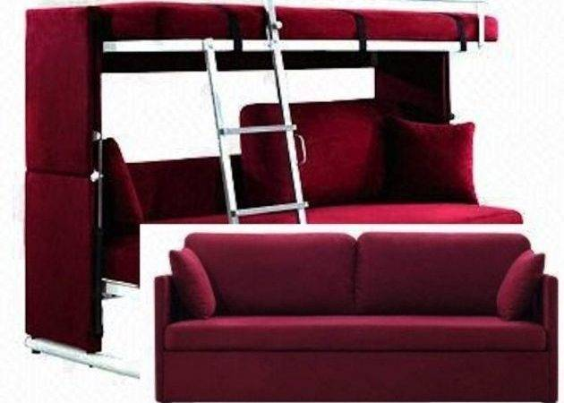 Couch Turns Into Bunk Bed Headboards