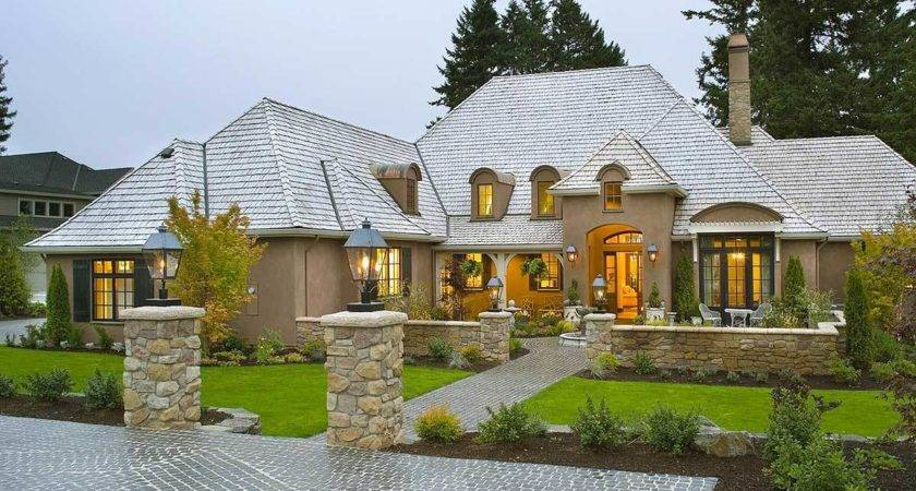 Country House Designs Elegant French Plans Architectural