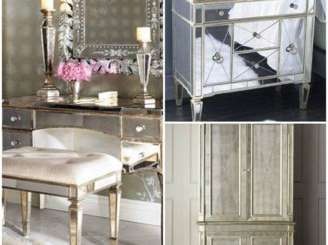 Coup Aile Mirrored Furniture