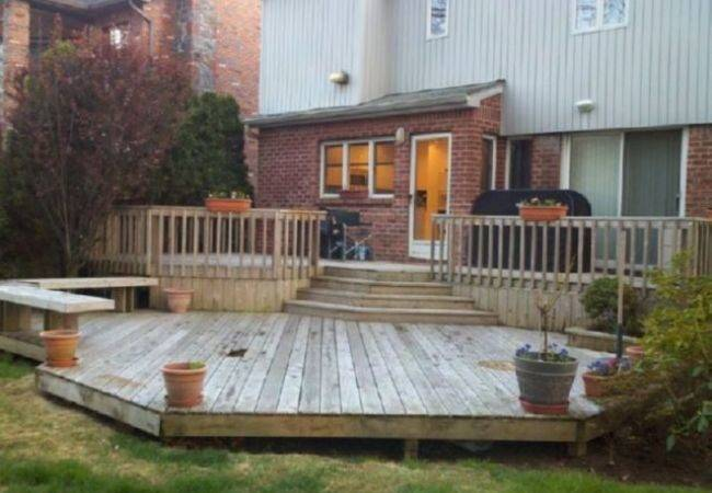 Covered Patio Deck Designs Home Ideas