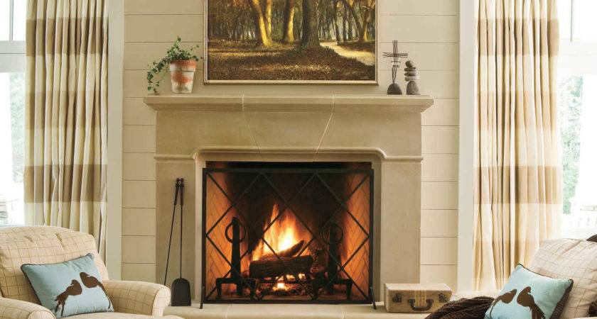 Cozy Ideas Fireplace Mantels Southern Living