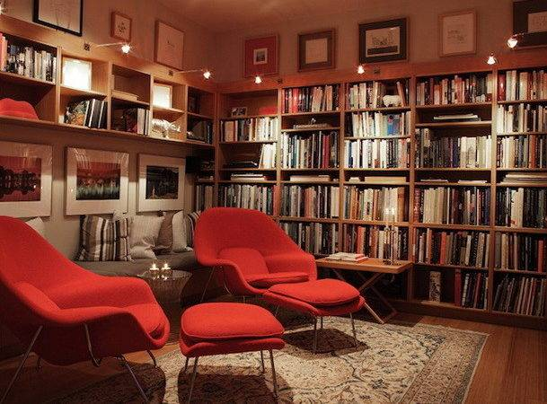 Cozy Library Types Your Houses Interior Design