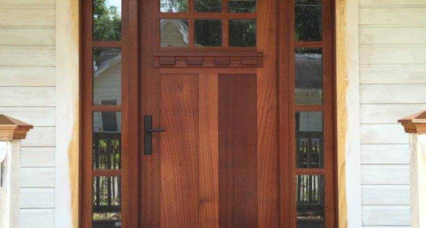 Craftsman Style Front Doors Sidelight Find Out