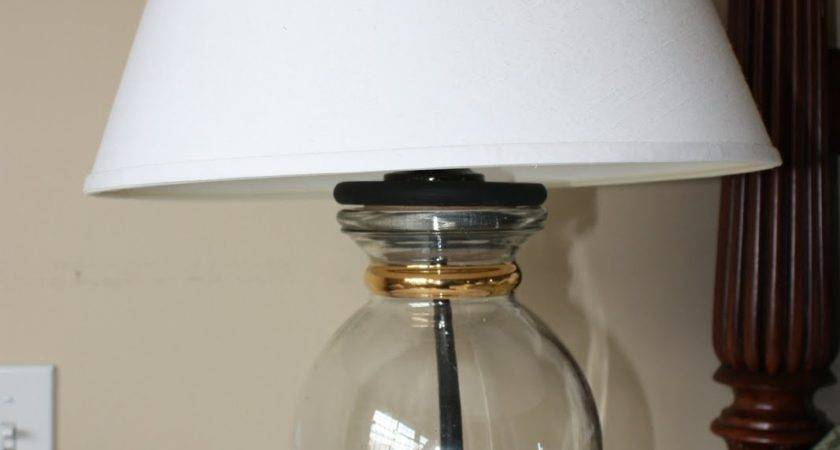Crafty Homemade Altered Lamps